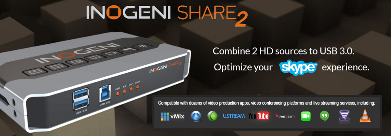 Inogeni's Pocket-sized Vision Mixer
