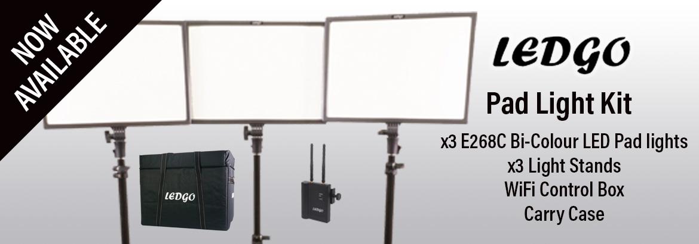 Ledgo E268 Lighting Kit