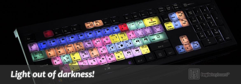 Logickeyboard - Backlit keyboards