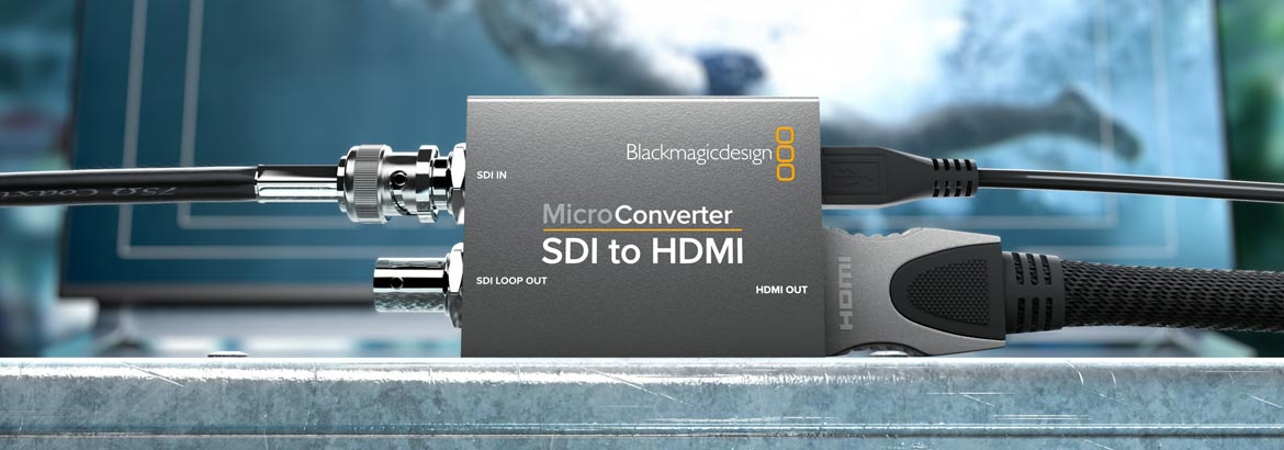 Blackmagic's smallest and most cost-effective converters
