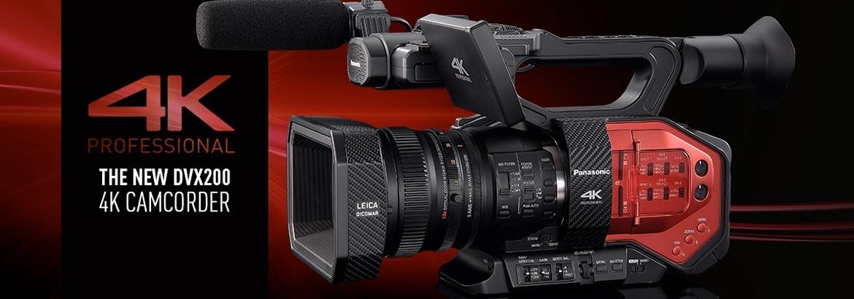 Panasonic AG-DVX200 4K  Fixed lens Camcorder