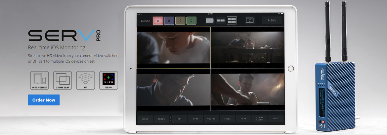 High quality iPad monitoring