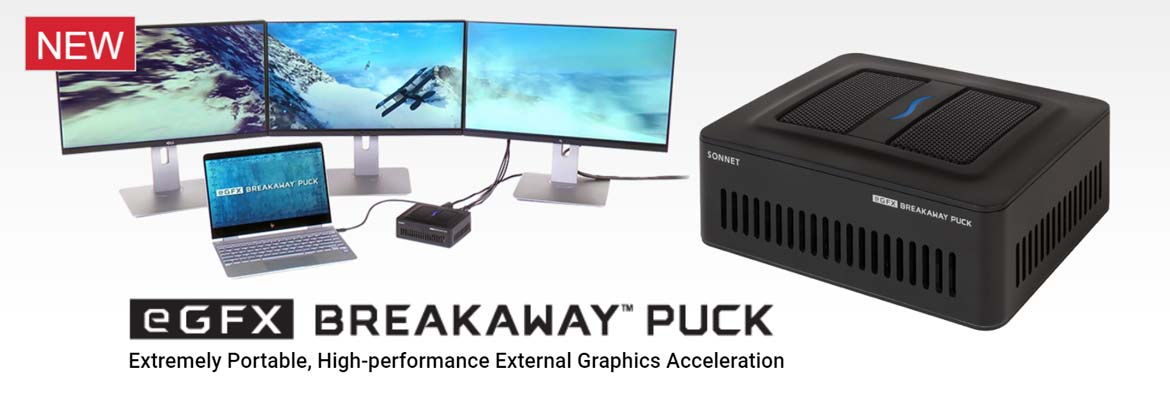 Totally portable super-fast external graphics