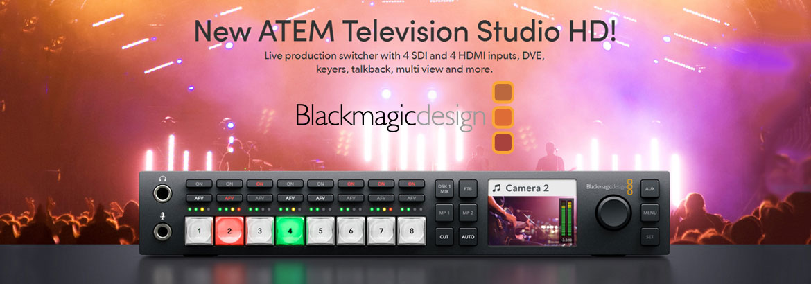 ATEM Television Studio HD - light up your event!
