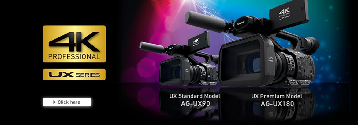 New generation 4K camcorders