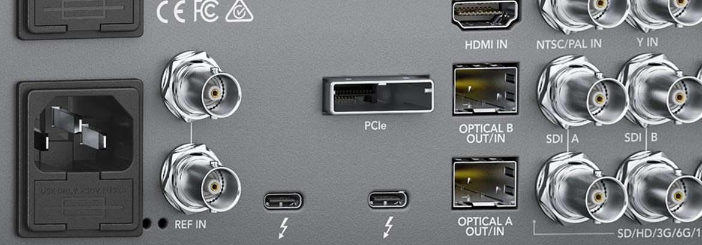 Thunderbolt 3 Editing Interface