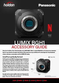 Panasonic LUMIX DC-BGH1 Accessory Guide