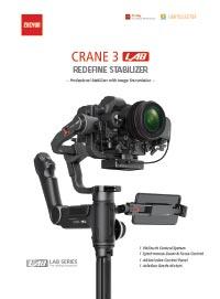 Zhiyun Tech Crane 3 LAB Leaflet