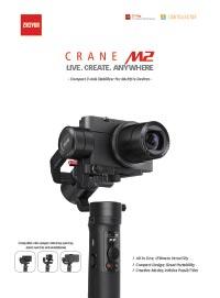 Zhiyun Tech Crane M2 Leaflet