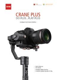 Zhiyun Tech Crane Plus Leaflet