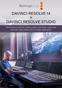 DaVinci Resolve 14 v Resolve Studio