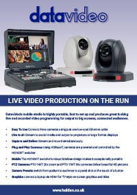 Datavideo - Live Video Production On The Run
