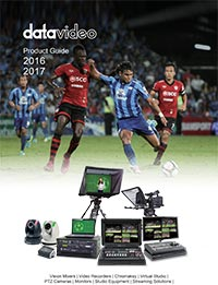 Datavideo Product Guide 2016 - 2017
