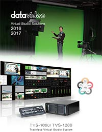 Datavideo Virtual Studio Solutions 2016 - 2017