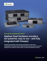 Epiphan Pearl for Panopto