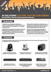 AV Solutions - Education