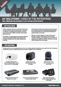 AV Solutions - Enterprise
