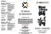 INOVATIV Echo / Ranger Trifold Leaflet