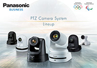 Panasonic Pro PTZ Camera and Controller Lineup