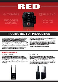 Rigging Red Cameras