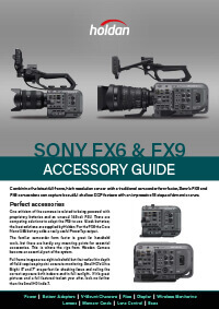 Sony FX6 - FX9 Accessories