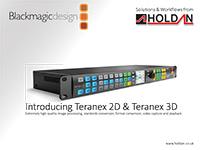 Teranex Workflows