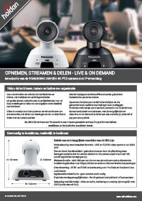 Opnemen, Streamen & Delen - Live & On Demand