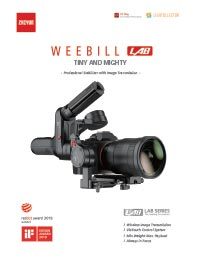 Zhiyun Tech Weebill LAB Leaflet