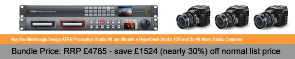 Offer - Blackmagic Design Micro Studio Camera 4K