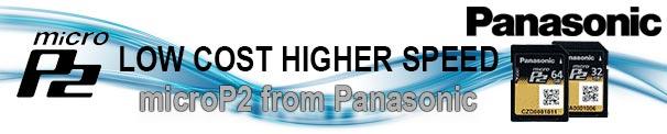 Panasonic micro P2