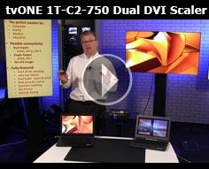 tvONE 1T-C2-750 Dual DVI Scaler