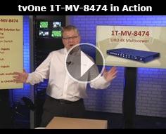 1T-MV-8474 4K Multiviewer in Action
