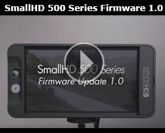 Firmware 1.1 Update for 500 Series Monitors and Sidefinder