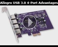 Sonnet Allegro USB 3.0 4-Port Advantages Product Overview