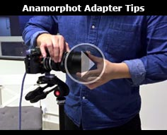 Tips when using the SLR Magic Anamorphot Adapter