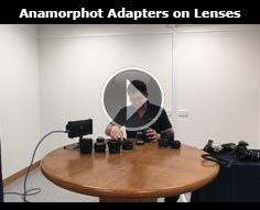 Using the Anamorphot with various lenses