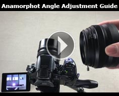 Anamorphot Angle Adjustment Guide