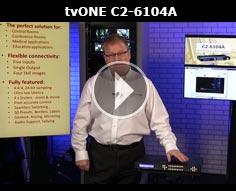 tvONE C2-6104A Multi-Window Processor