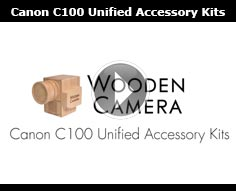 Wooden Camera Canon C100 Unified Accessory Kits