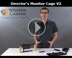 Wooden Camera Directors Monitor Cage v2