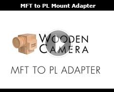 Wooden Camera MFT to PL Adapter for Blackmagic Pocket Cinema Camera