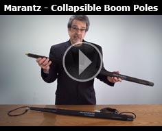 Marantz Professional Collapsible Boom Poles