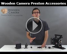 Wooden Camera New Accessories for the Preston MDR3