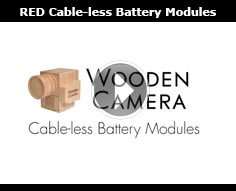 Wooden Camera Cable-less Power Modules for RED Weapon | Scarlet-W | Raven