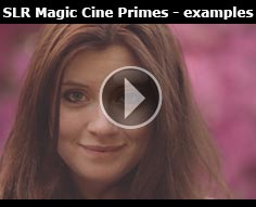 SLR Magic Cine Lenses - Philip Bloom