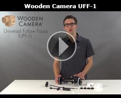 Wooden Camera Universal Follow Focus: Fits all rods and cameras