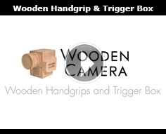 Wooden Camera Wooden Handgrip and Trigger Box