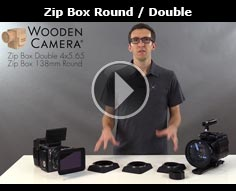 Wooden Camera Zip Box Round and Zip Box Double