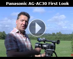 Panasonic AG-AC30 First look