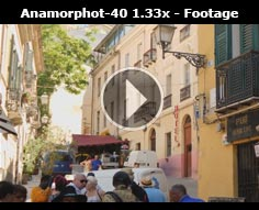 Anamorphot-40 1.33x Sample footage
